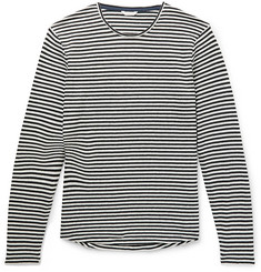 Orlebar Brown Ob-T Striped Cotton and Linen-Blend T-Shirt