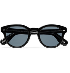Oliver Peoples Cary Grant Round-Frame Acetate Polarised Sunglasses