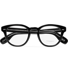 Oliver Peoples - Cary Grant Round-Frame Acetate Optical Glasses