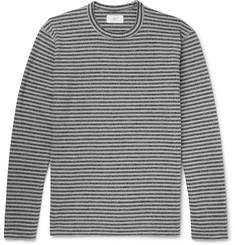 Mr P. Striped Cotton and Wool-Blend Jersey T-Shirt