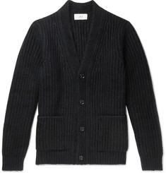 Mr P. Ribbed-Knit Cardigan