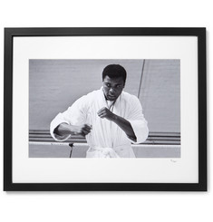 Sonic Editions Framed 1966 Cassius Clay Print, 16