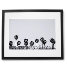Sonic Editions Framed 2015 Stephen Albanese Hollywood Palm Trees Print, 16