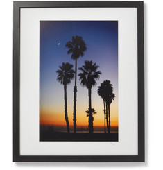 Sonic Editions Framed 2018 Stephen Albanese LA Sunset Print, 16