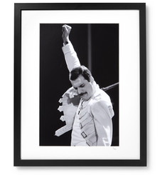 Sonic Editions Framed 1986 Freddy Mercury on Stage Print, 16