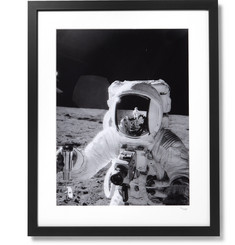 Sonic Editions Framed 1969 Alan L. Bean on the Moon Print, 17