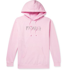 PARADISE Logo-Print Fleece-Back Cotton-Jersey Hoodie