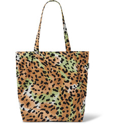 Wacko Maria Leopard-Print Brushed-Cotton Tote Bag