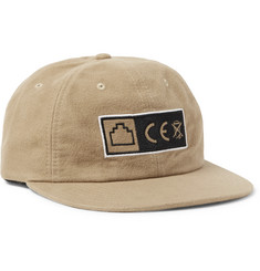 Cav Empt Logo-Embroidered Brushed-Cotton Baseball Cap