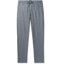 Club Monaco - Slim-Fit Cotton-Blend Drawstring Trousers