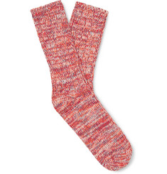 Thunders Love Mélange Recycled Cotton-Blend Socks