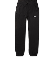 AMIRI Tapered Printed Loopback Cotton-Jersey Sweatpants