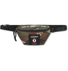 Eastpak + BAPE Camouflage-Print Canvas Belt Bag