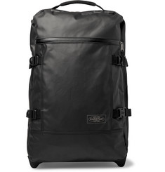 Eastpak Tranverz S 51cm Leather-Trimmed Coated-Canvas Carry-On Suitcase