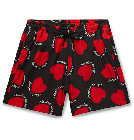 AMIRI Short-Length Printed Swim Shorts