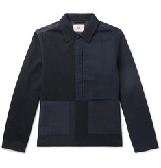 Folk Burner Panelled Cotton-Blend Twill Jacket