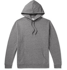 Sunspel Mélange Loopback Cotton-Jersey Hoodie