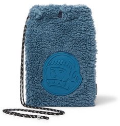 Billionaire Boys Club  Logo-Appliquéd Fleece Pouch