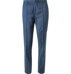 Hugo Boss Blue Genius Slim-Fit Super 120s Virgin Wool Suit Trousers
