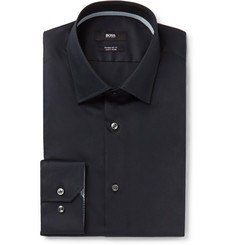 Hugo Boss Black Gelson Cotton-Poplin Shirt