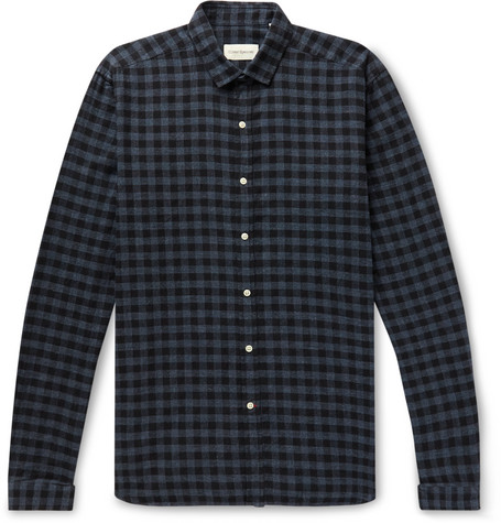 Oliver Spencer Clerkenwell Checked Cotton Shirt