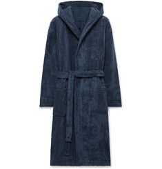 Schiesser Cotton-Terry Hooded Robe