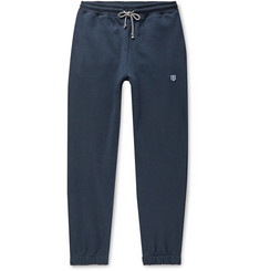 Schiesser Vincent Tapered Fleece-Back Cotton-Jersey Sweatpants