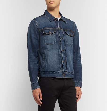 Definitive Stretch Denim Jacket by Rag & Bone
