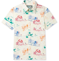 Gucci + Disney Printed Cotton Shirt