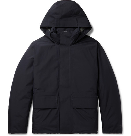 ystad-gore-tex-hooded-down-parka by norse-projects