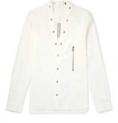Rick Owens Stretch Cotton-Canvas Shirt