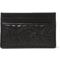 Gucci Rhombus Quilted Leather Cardholder
