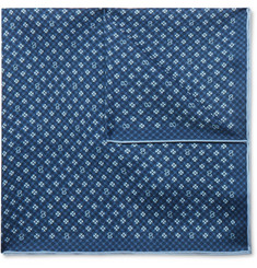 Gucci Printed Silk-Twill Pocket Square