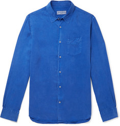 Officine Generale Benoit Pigment-Dyed Lyocell Shirt