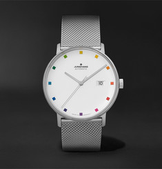 Junghans Limited Edition Form A 100 Jahre Bauhaus Automatic 39.3mm Stainless Steel Watch, Ref. No. 027/4937.4