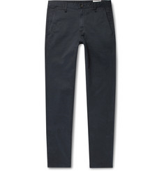 rag & bone Midnight-Blue Fit 2 Slim-Fit Cotton-Blend Twill Chinos