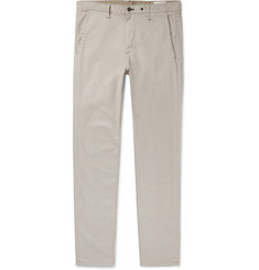 rag & bone Fit 2 Slim-Fit Garment-Dyed Cotton-Blend Twill Chinos