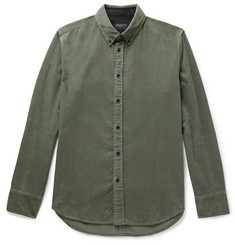 rag & bone Tomlin Fit 2 Slim-Fit Button-Down Collar Cotton-Corduroy Shirt