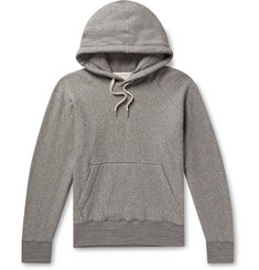 rag & bone Herringbone Loopback Cotton-Jersey Hoodie