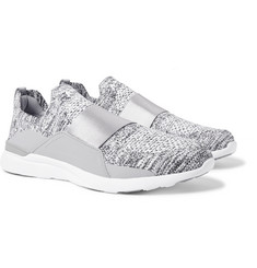APL Athletic Propulsion Labs Bliss TechLoom Mélange Slip-On Running Sneakers