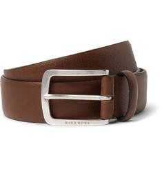 Hugo Boss 3.5cm Black Jor Leather Belt
