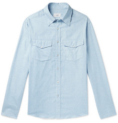 Dunhill Cotton and Cashmere-Blend Western Shirt