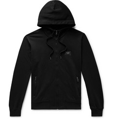 Dolce & Gabbana Loopback Cotton-Jersey Zip-Up Hoodie