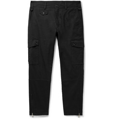Dolce & Gabbana Tapered Stretch-Cotton Cargo Trousers