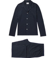 NN07 Sleepwell Pinstriped Cotton Pyjama Set