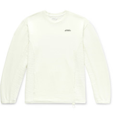 Saturdays NYC Aaron Slub Cotton and Linen-Blend Sweatshirt