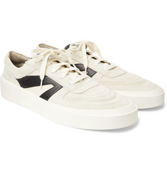Fear of God Suede, Leather and Canvas Sneakers