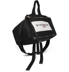Givenchy Pandora Logo-Detailed Vinyl Messenger Bag