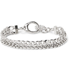 Givenchy Silver-Plated Chain Bracelet