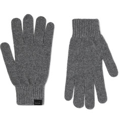 Paul Smith Cashmere and Wool-Blend Gloves